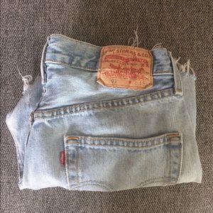Vintage Levi's Jean Shirts